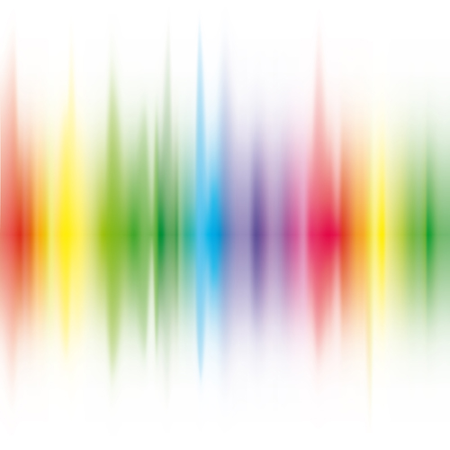 vector shiny rainbow background 02 free download