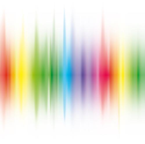 Vector Shiny Rainbow background 02