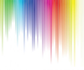 Colorful Rainbow background vector material 04