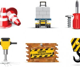 Different repair and construction mix vector icon 03