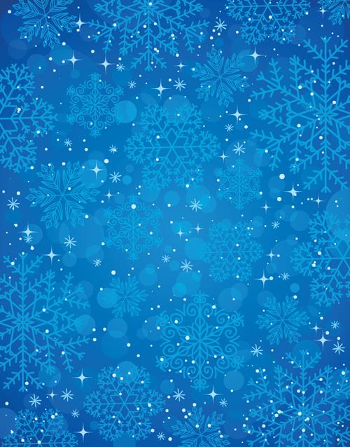 Winter snow backgrounds art 05 vector