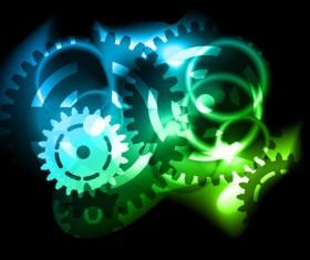 Technical design elements vector backgrounds 02