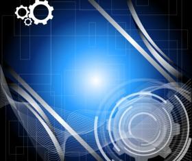 Technical design elements vector backgrounds 05
