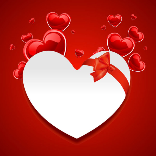 It is an image of Luscious Hearts With Bows