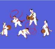 Link toKorea style dance vector