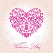 Link toVector floral heart valentine illustration