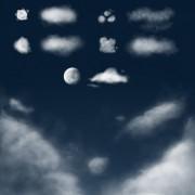 Link toVivid cloud photoshop brushes