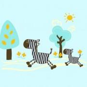 Link toCute cartoon zebra vector