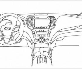 Sketch Car Central vector
