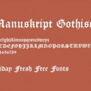 Link toRetro gothic font