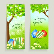 Link toGreen style easter design elements vector 03
