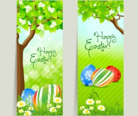 Green style Easter design elements vector 03