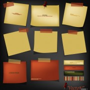Link toRetro paper labels vector 01