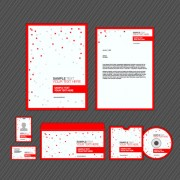 Link toSet of business identity kit template design vector 02