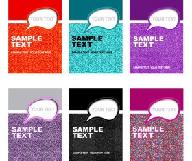 Set of Business identity Kit template design vector 04