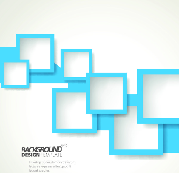 Vector Geometry Shapes Rectangles Backgrounds 02 Vector