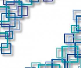 Vector Geometry shapes rectangles backgrounds 04