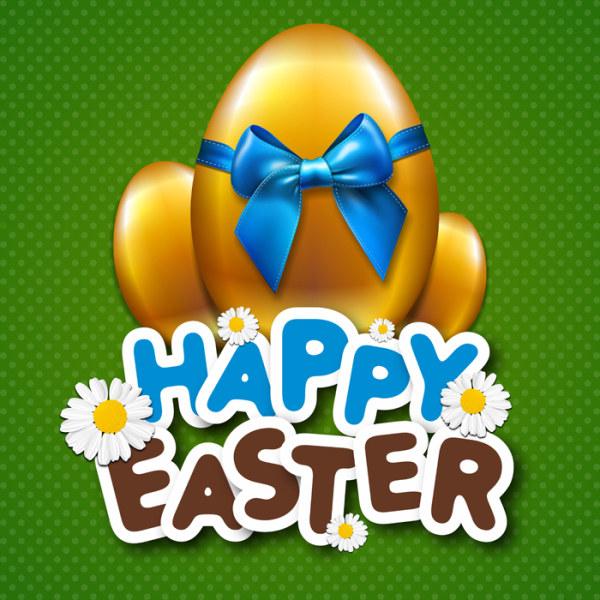 Easter Day design elements vector 04