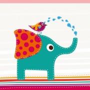 Link toCartoon birds and elephants vector
