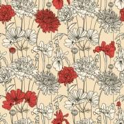 Link toHand drawn flower pattern art vector 01