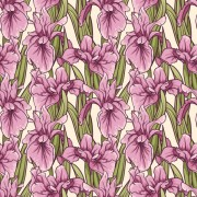 Link toHand drawn flower pattern art vector 02