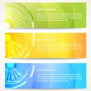 Link toVector modern abstract banner design 04