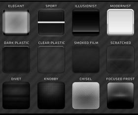 Dark layer Photoshop styles