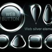 Link toGolden glow web buttons elements vector 03