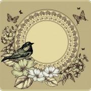 Link toRetro birds design elements vector 02