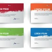 Link toBlank sheet cards vector set 03