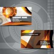 Link toVector stylish business cards design 04