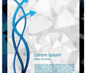 Best Business brochure covers vector graphics 01