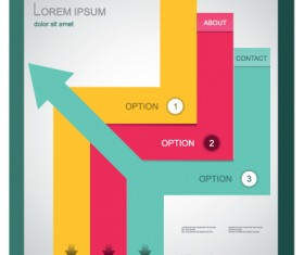 Best Business brochure covers vector graphics 02