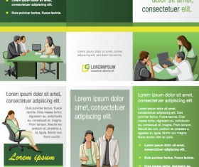Commonly Business template design vector 01
