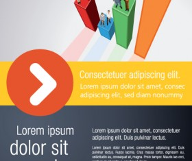 Commonly Business template design vector 03