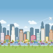 Link toCartoon city landscape vector 01