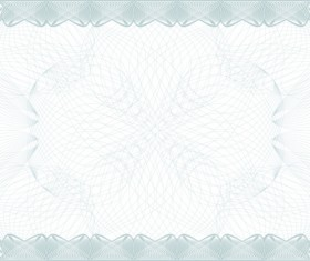 Commonly Certificate cover vector template 03