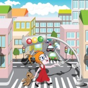 Link toCartoon city scenes elements vector graphics 05