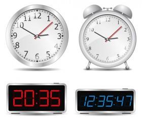 Different Clock design vector 01