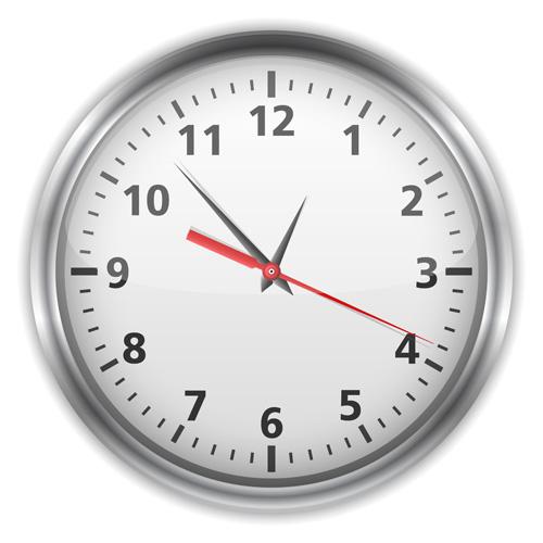 Different Clock design vector 03 free download