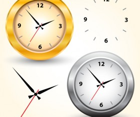 Different Clock design vector 04