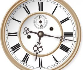 Different Clock design vector 05