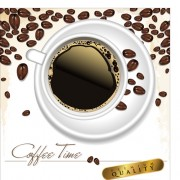 Link toCoffee time design vector 03
