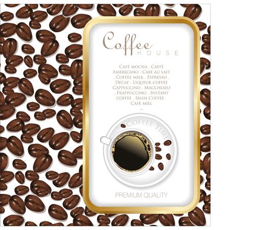 Coffee time design vector 04