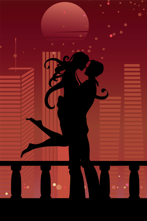Couples vector material 03