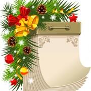 Link toCreative paper calendars vector 03