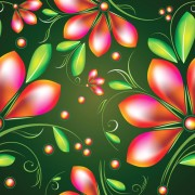 Link toColored flower seamless pattern vector 03