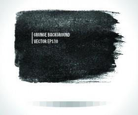 Vector Black Grunge backgrounds 02
