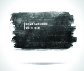 Vector Black Grunge backgrounds 03