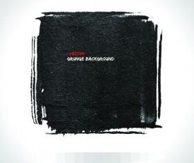 Vector Black Grunge backgrounds 04